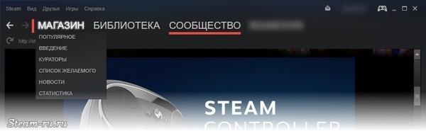 Магазин да обсуждения во Steam
